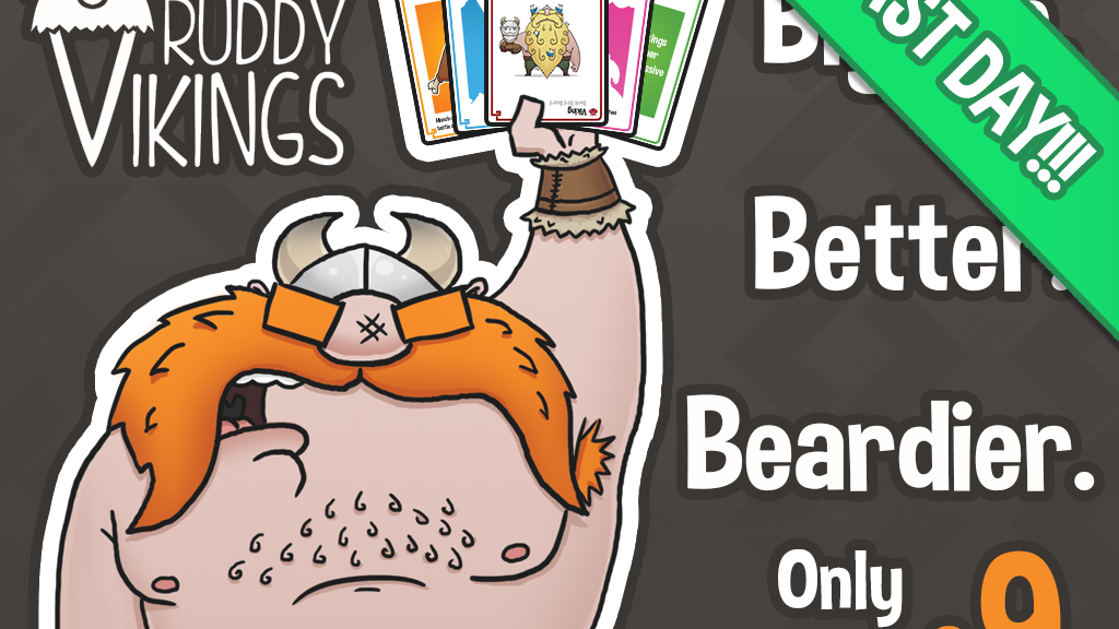 Ruddy Vikings - The beardiest card game... EVER project video thumbnail