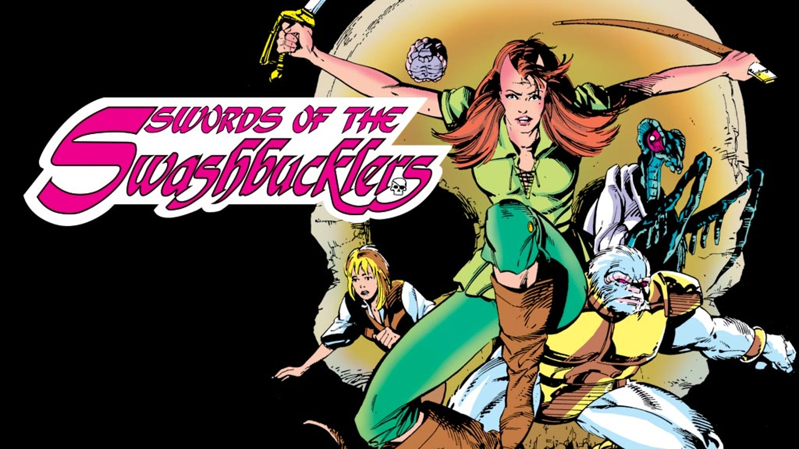 "Help us bring the co-creator of Rocket Raccoon's long-lost graphic novel, ""Swords of the Swashbucklers"", back to print."