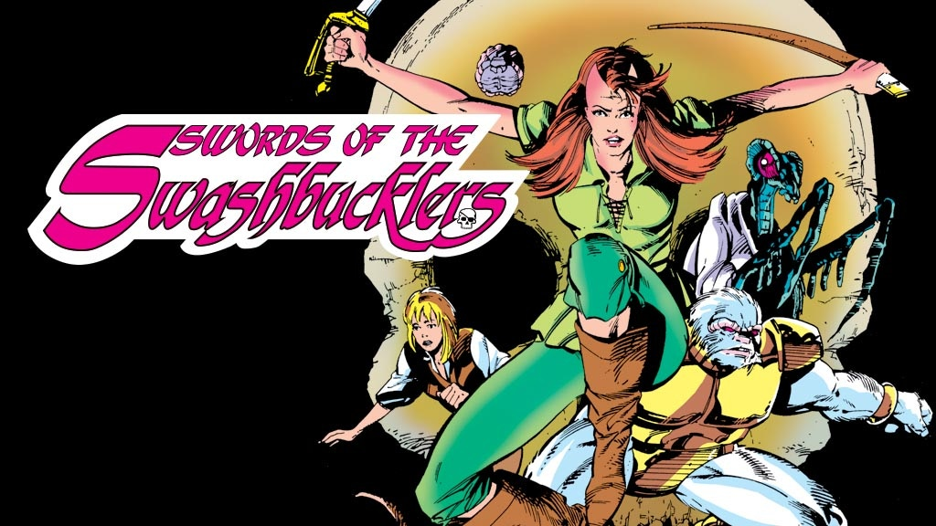 Bill Mantlo & Butch Guice's Swords of the Swashbucklers GN project video thumbnail