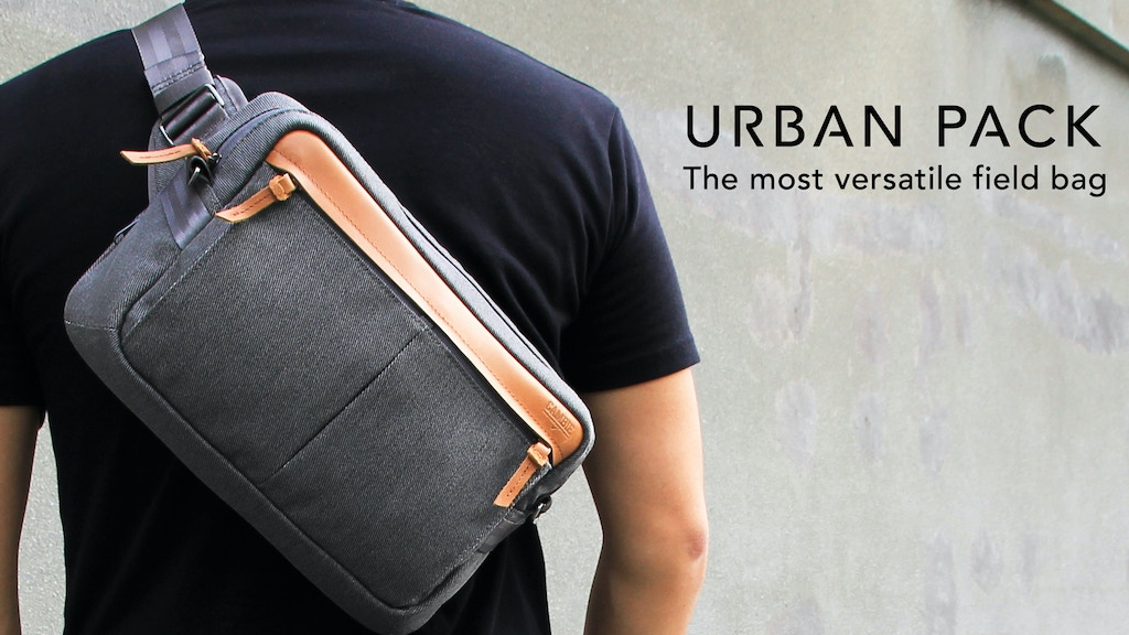 URBAN PACK - A versatile 4-in-1 minimalist field bag. project video thumbnail