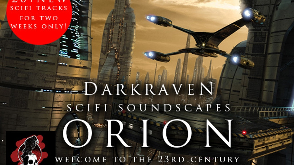 Orion - SciFi Soundscapes by Darkraven Europe project video thumbnail