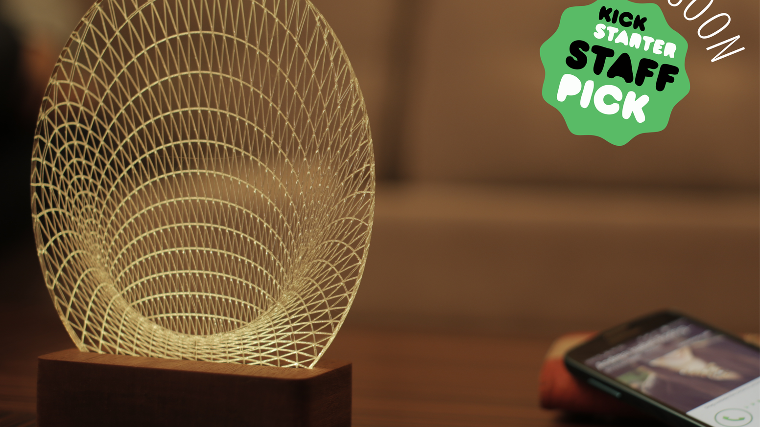 PrettySmartLamp with Bluetooth Smart: find your phone, get notifications, Tap your loved ones; just to name a few.         Missed the campaign? Do not worry...