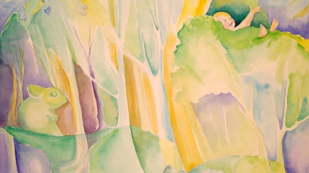In the Tree Top: Children's Book project video thumbnail