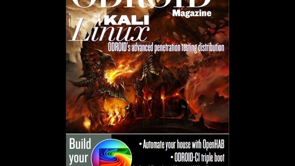 Project image for ODROID Magazine - Print Edition