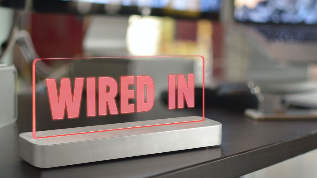 Wired In - Wireless Productivity Sign With Arduino & HomeKit project video thumbnail