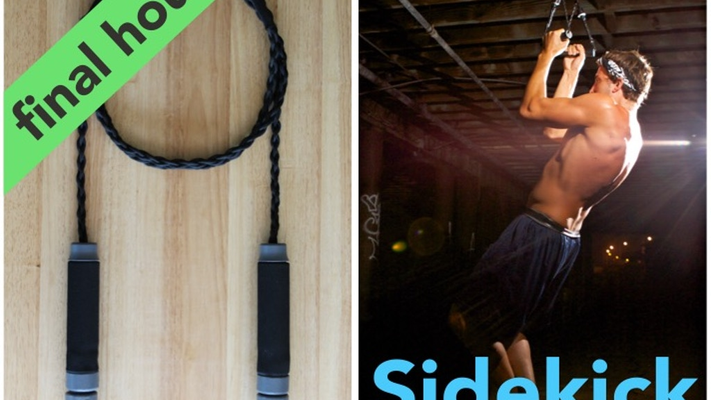 The Sidekick: liberate your workout, exercise on-the-go project video thumbnail