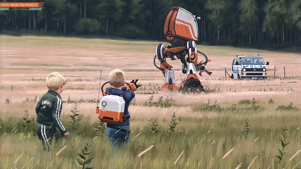Simon Stålenhag's Tales from the Loop project video thumbnail
