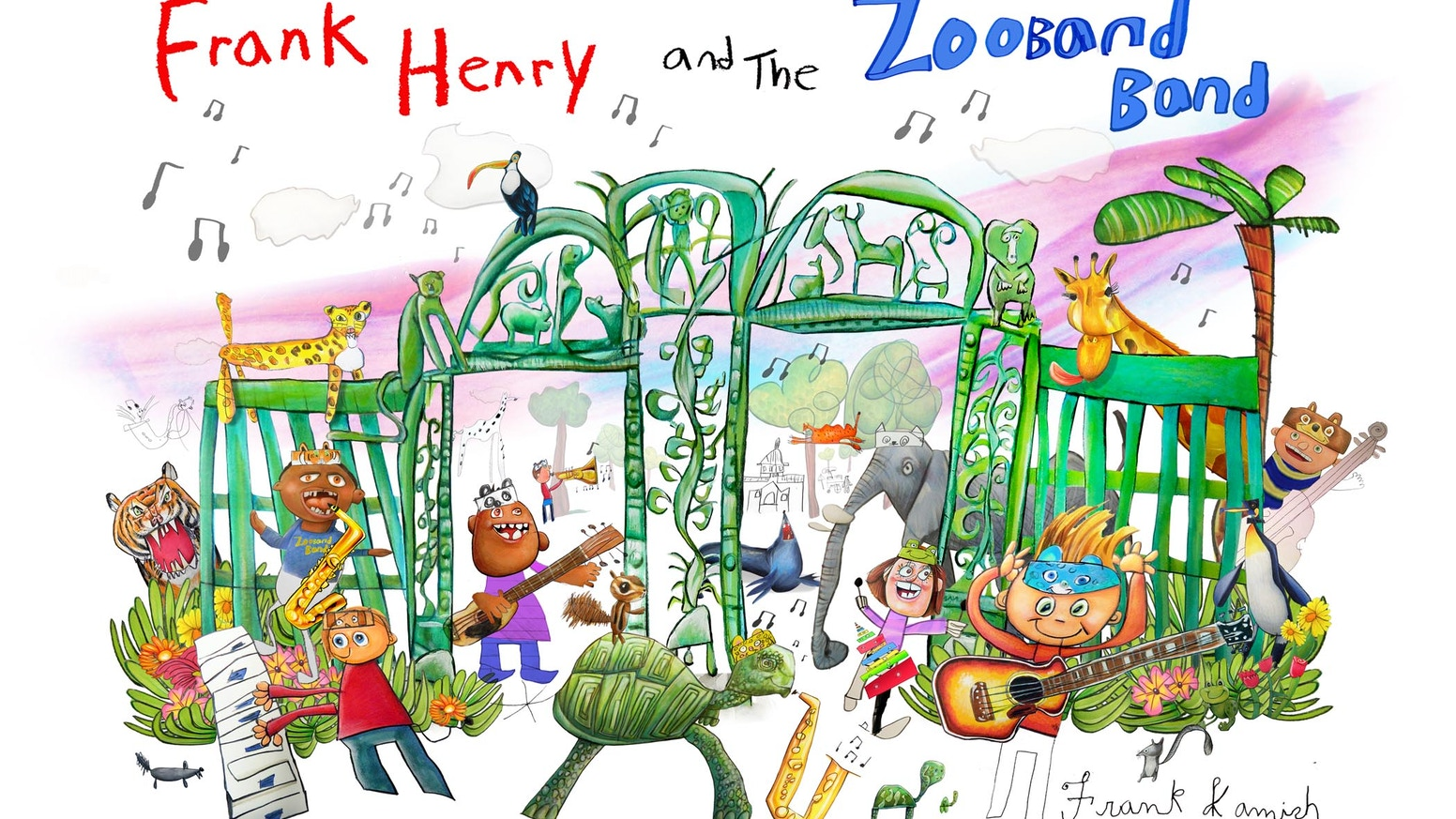Frank Henry & the Zooband Band: A fun new Children\'s Book by Frank ...