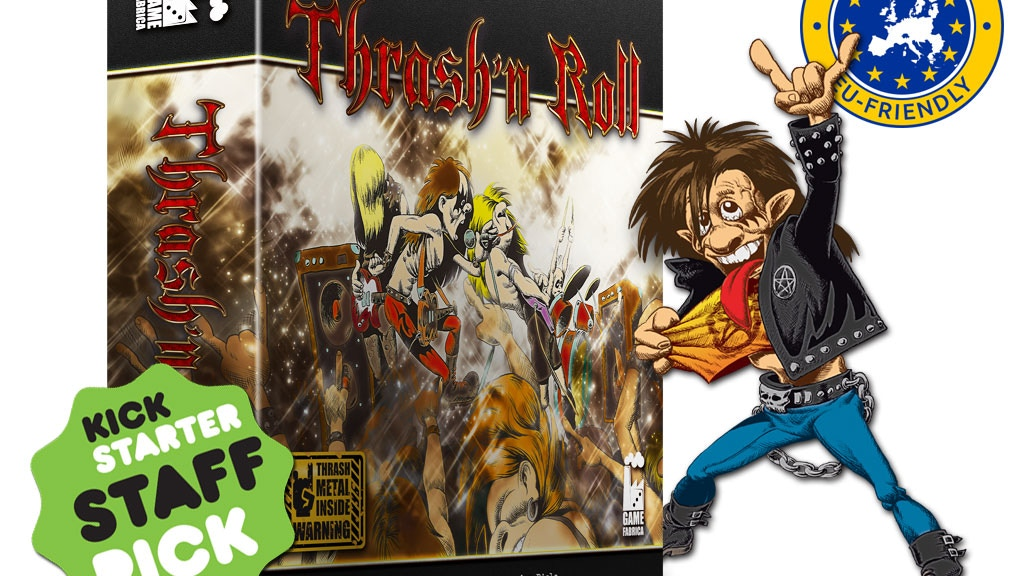 Thrash'n Roll board game project video thumbnail