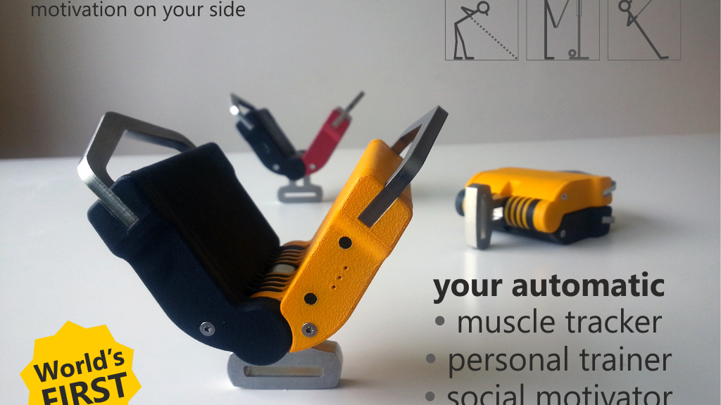 Project image for ResisTrack: World's 1st Muscle Fitness Tracker & Motivator