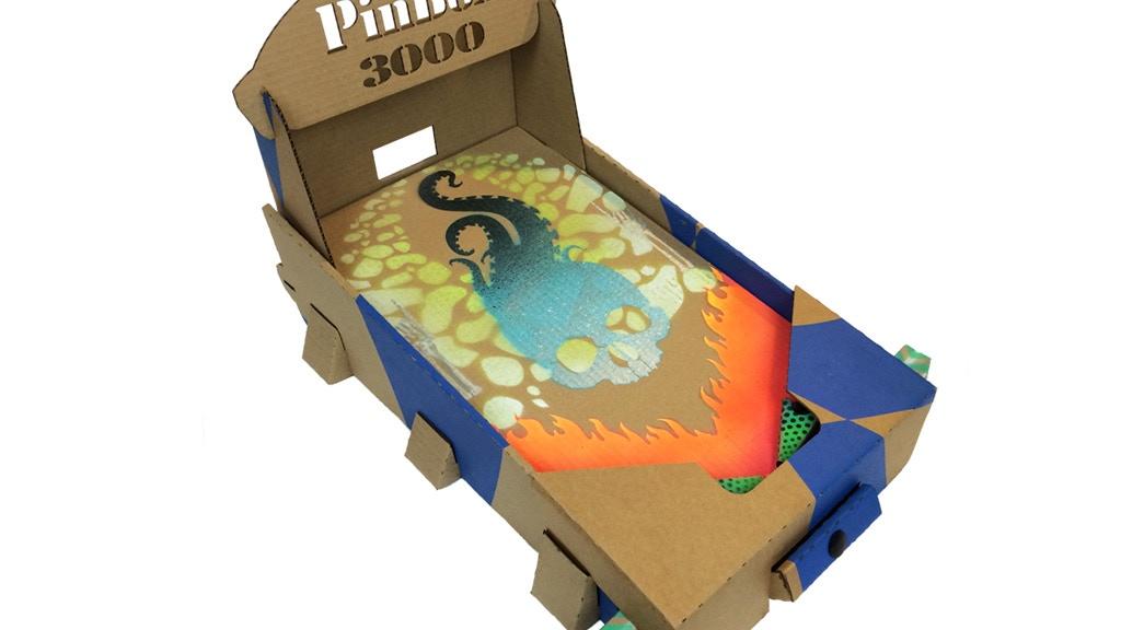 PinBox 3000 Artcade Pinball System project video thumbnail
