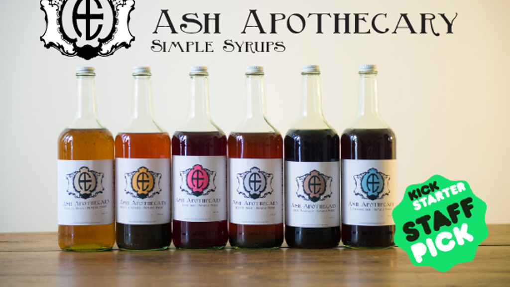 Ash Apothecary: Small Batch, All-Natural Simple Syrup project video thumbnail