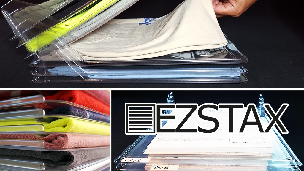 EZSTAX: Organize Closets, Dressers, Laundry, and Offices. project video thumbnail