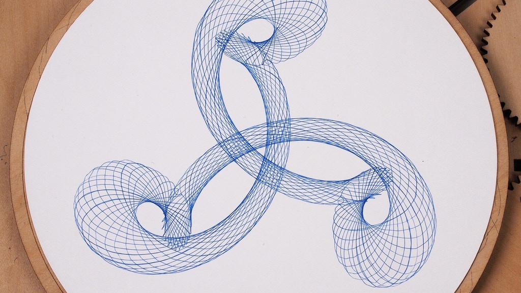 Cycloid Drawing Machine Project-Video-Thumbnail