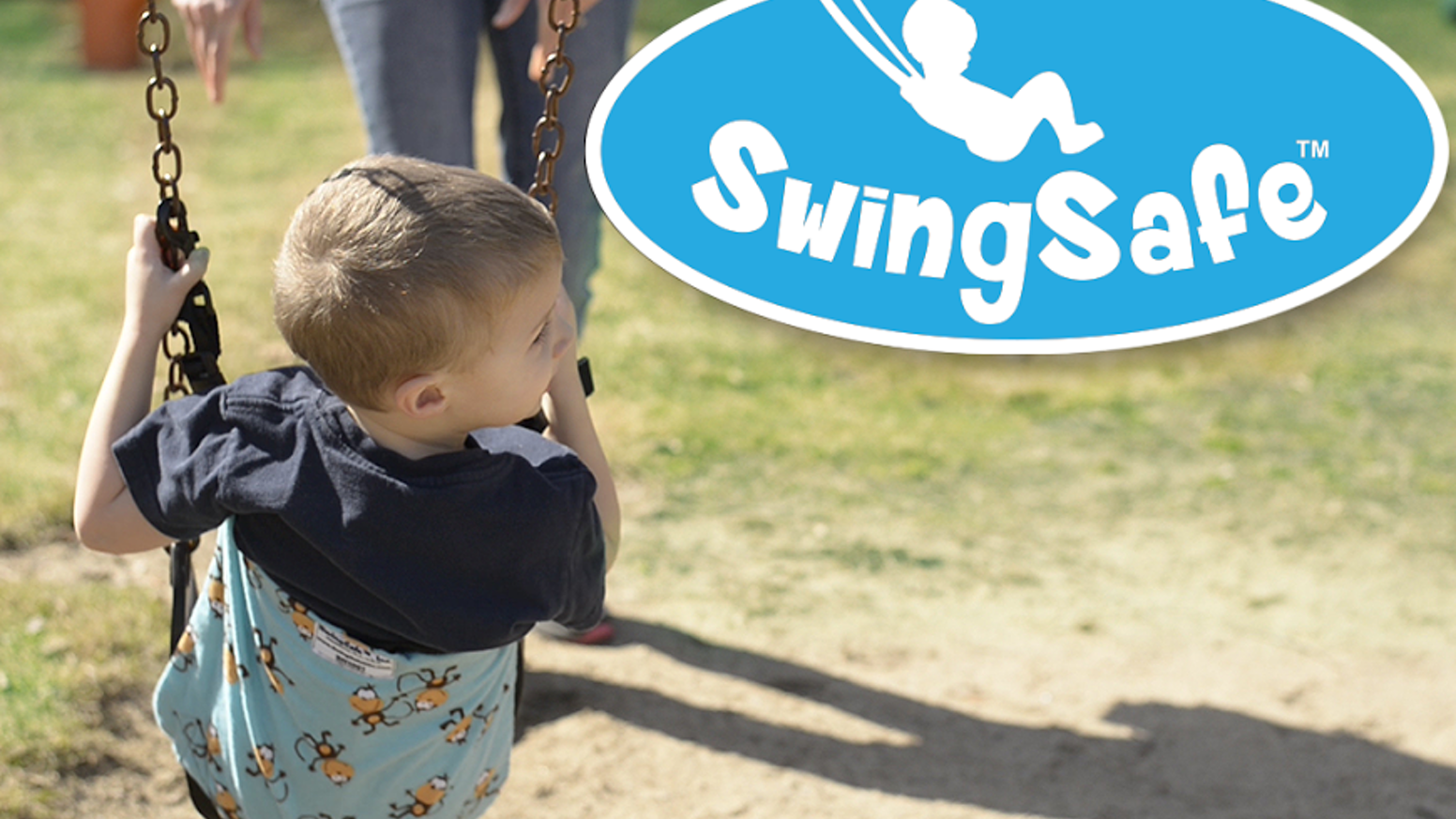The SwingSafe can create a safer, more enjoyable swinging experience for a child at home or at the playground.  For sale now on the SwingSafe2go website.