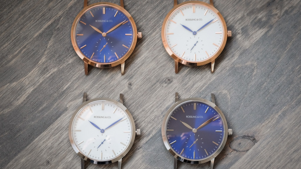 Ultra-Thin Watches with Swiss Movements and 60s Style project video thumbnail