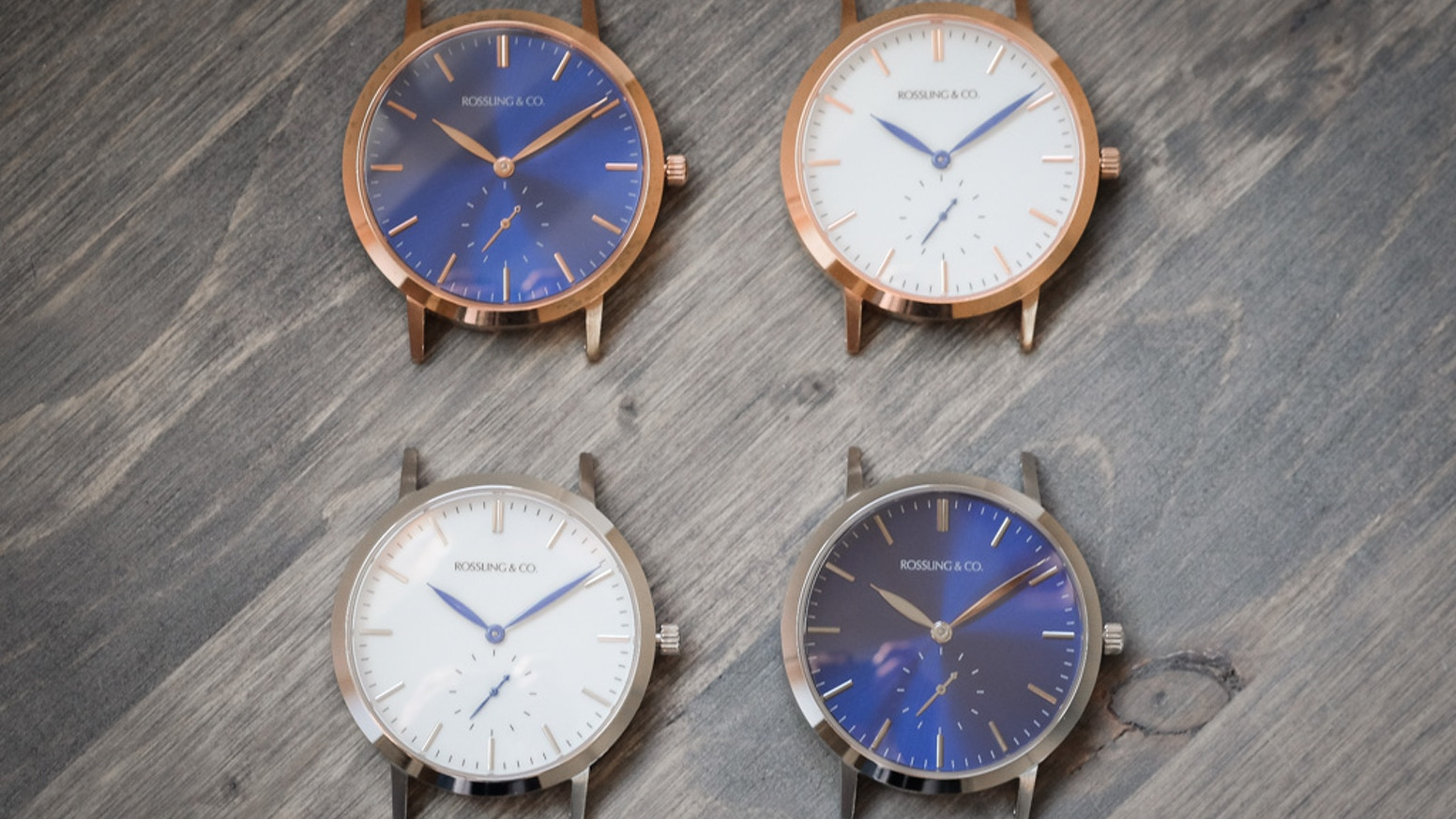 Versatile, stylish and affordable quality. With unique tweed and leather straps.