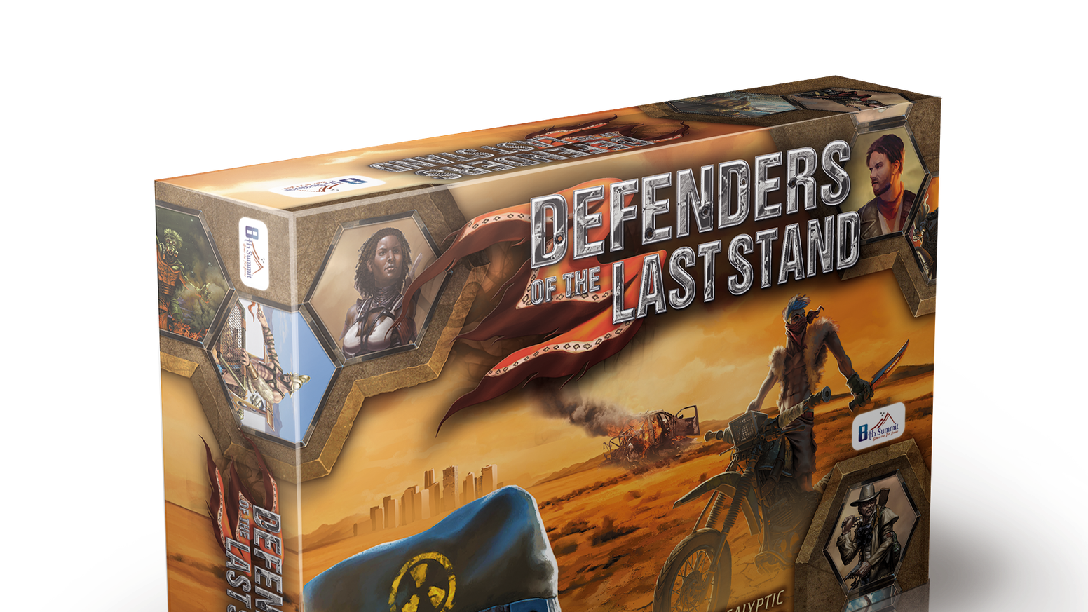 A game by Richard Launius, designer of last year's Run Fight or Die which is nominated for a Dice Tower Award this year!