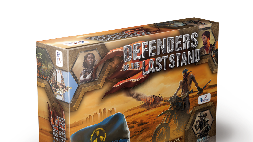 Defenders of the Last Stand -  Adventure Board Game project video thumbnail