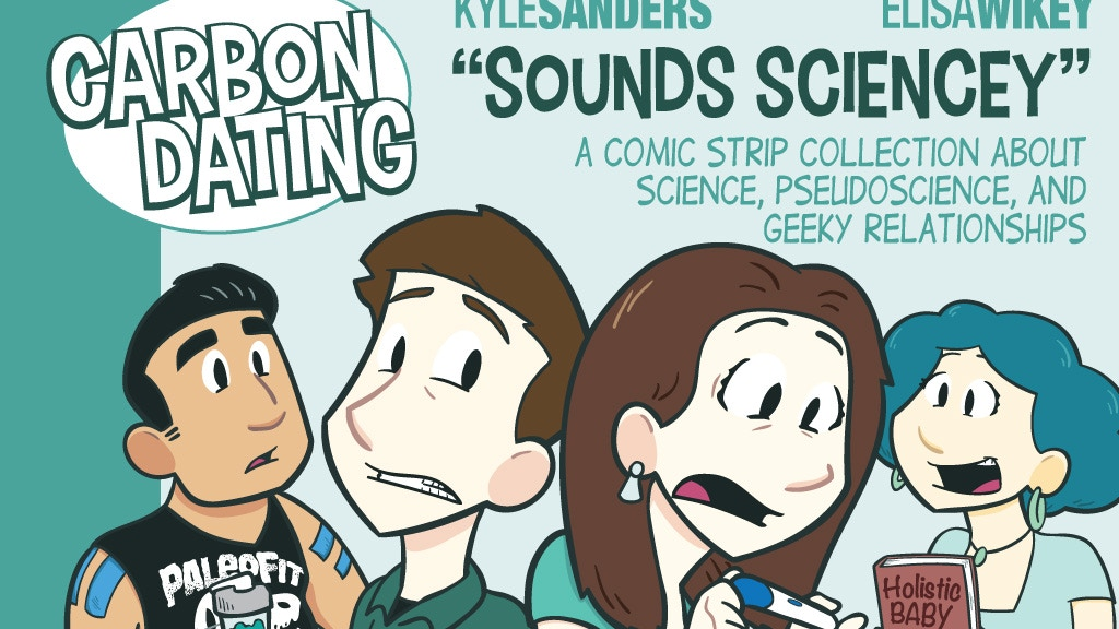 Carbon Dating - a sciencey comic strip HARDCOVER! project video thumbnail