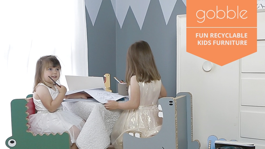 Gobble - The World's Most Fun Recyclable Furniture! project video thumbnail