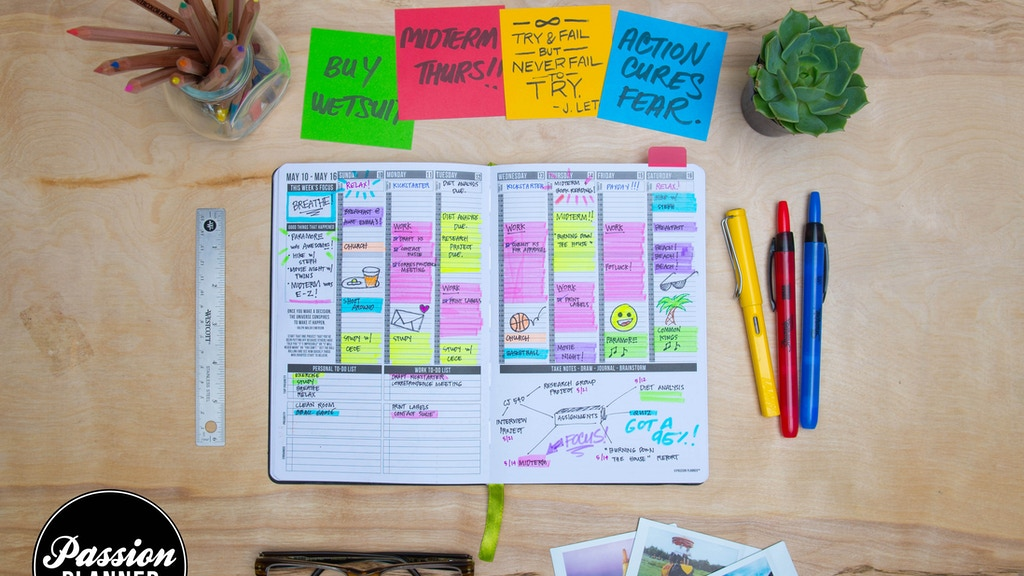 Passion Planner: The Life Coach That Fits in Your Backpack project video thumbnail