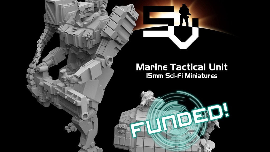 Marine Tactical Unit - 15mm Scale Miniatures project video thumbnail