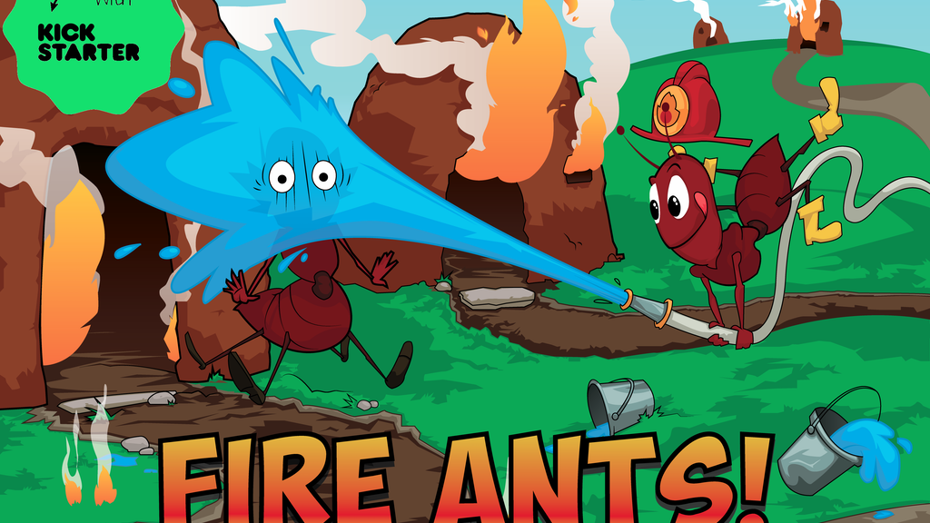 Fire Ants! The Family Fun Firefighting Card Game! project video thumbnail