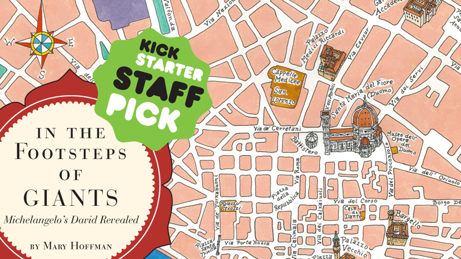 This Interactive Title Suite - StoryApp Tour & Book - Brings to Life 16th Century Florence & Renaissance Giants: Michelangelo & David