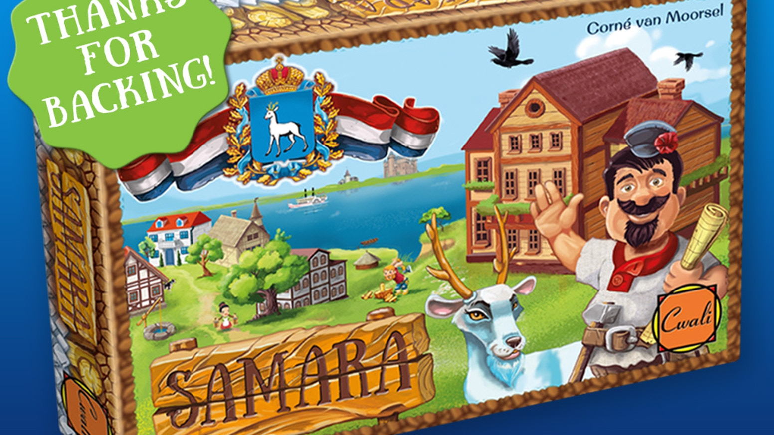 SAMARA sold out. Click below link for the newest game crowdfund.