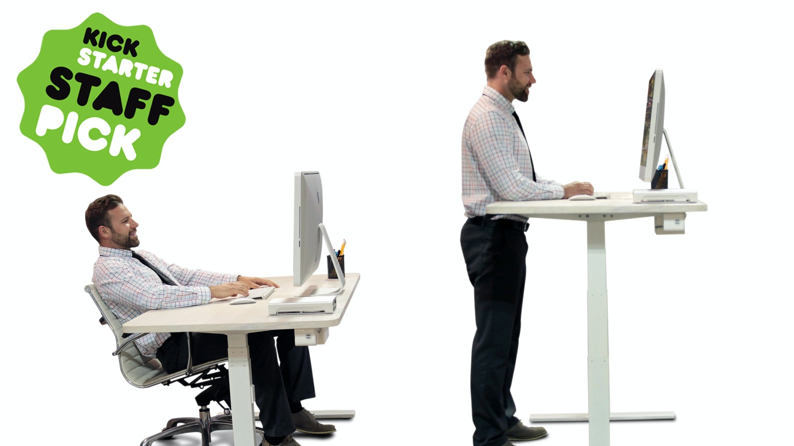 World\'s First Smart, Connected Office Desk — Powered By AI. by ...