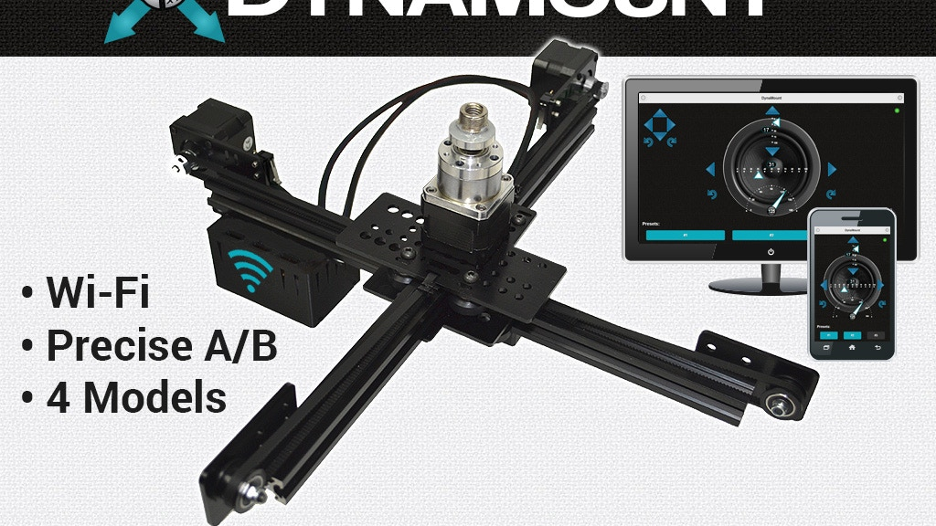DynaMount - Robotic Microphone Mounts project video thumbnail