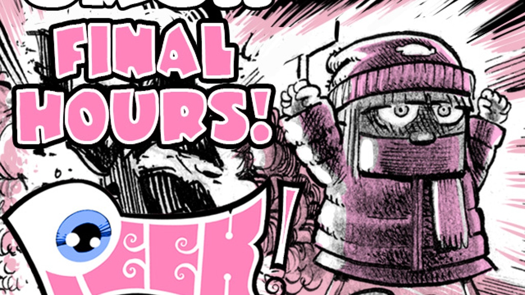PEEK! #1: A new weirdo humor comic! project video thumbnail
