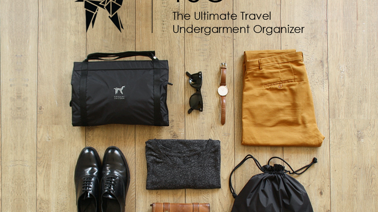 TUO,The Travel Undergarment Organizer: Pack your suitcase better, keep it organized in your hotel room