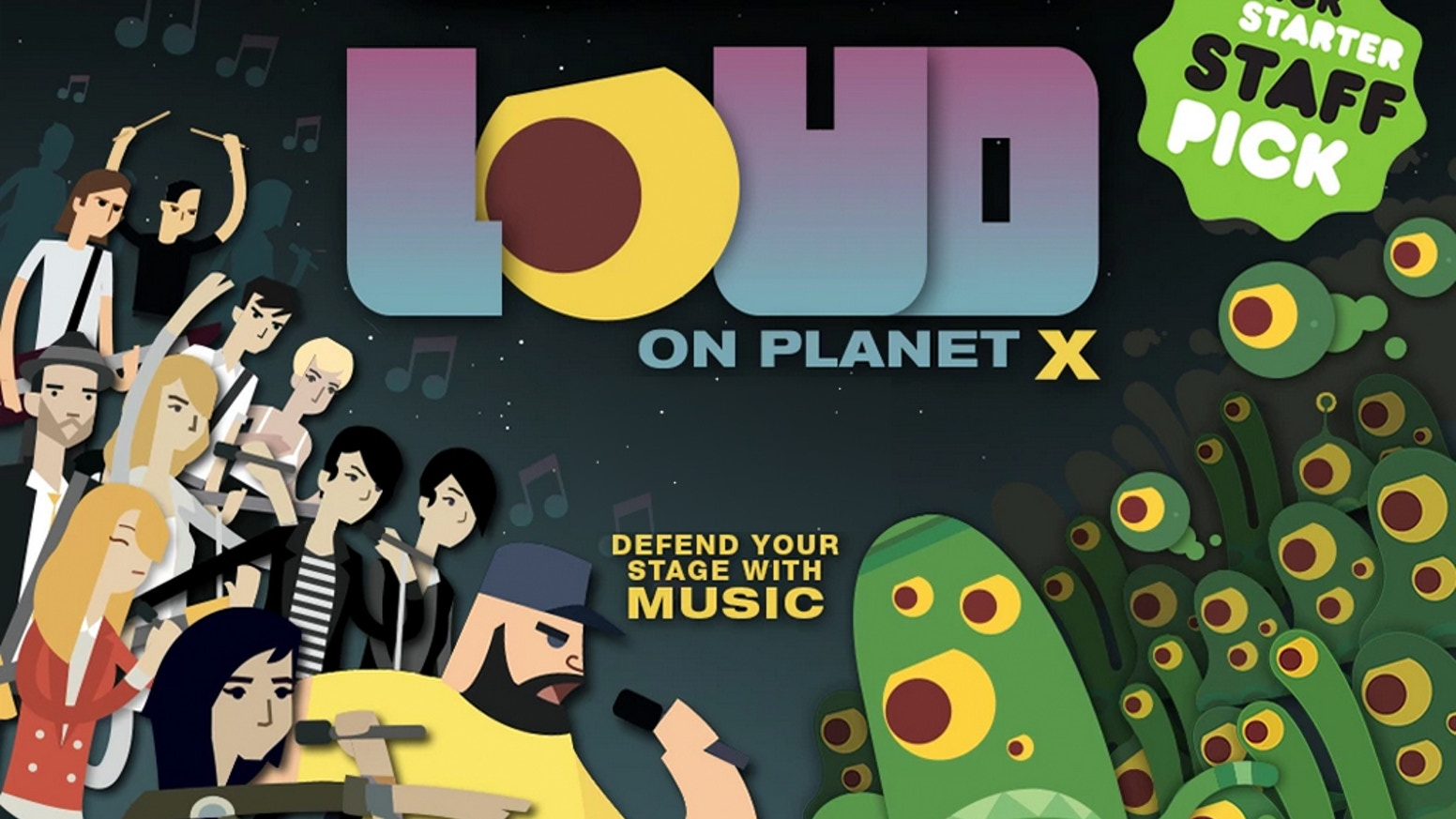 Defend your stage with music in this new INDIE MUSIC GAME featuring Tegan and Sara, CHVRCHES, Lights, Metric, METZ, F*cked Up, HEALTH, Purity Ring, Little Dragon, Austra, & more!  AVAILABLE NOW on PS4, Steam, iOS & Android!
