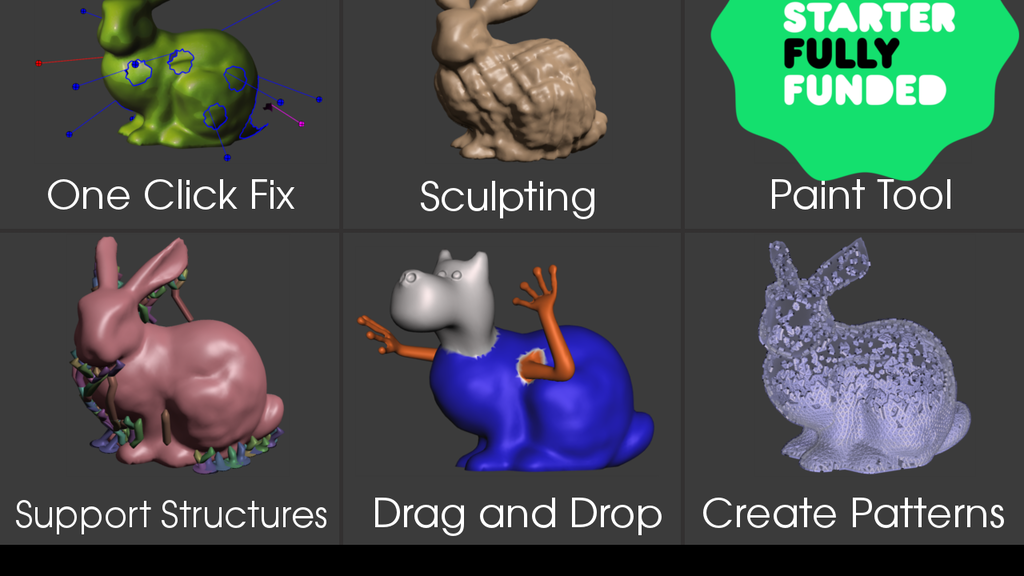 3D Printing Toolkit - Meshmixer  3D CAD - Full Online Course project video thumbnail
