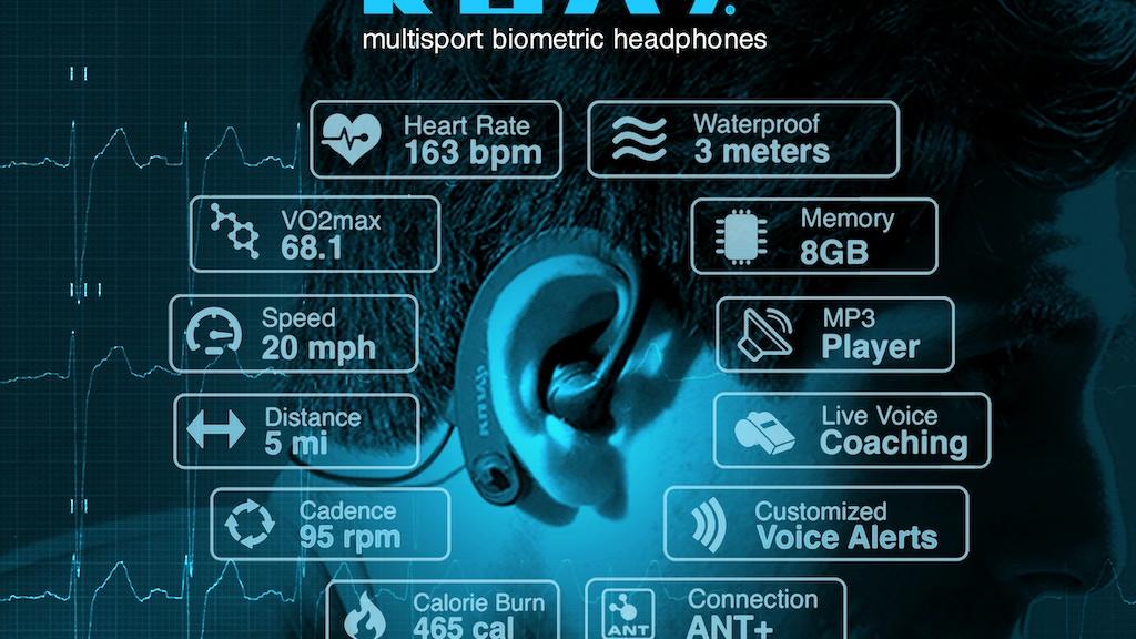 KUAI - World's First Multisport Biometric Headphones project video thumbnail