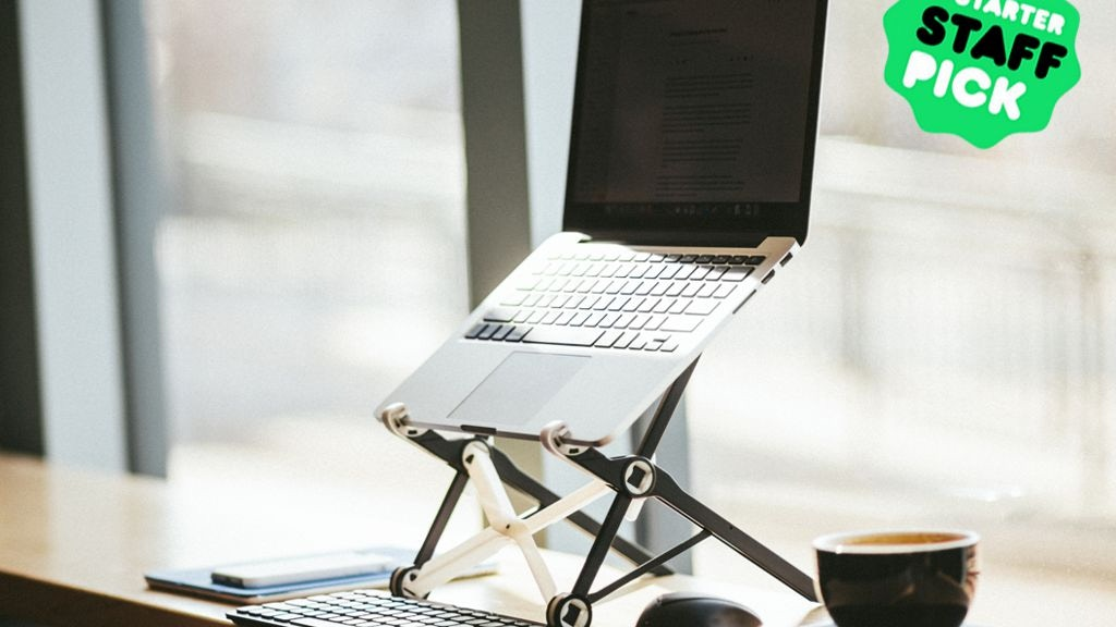 Roost Laptop Stand | Free yourself from laptop neck pain project video thumbnail