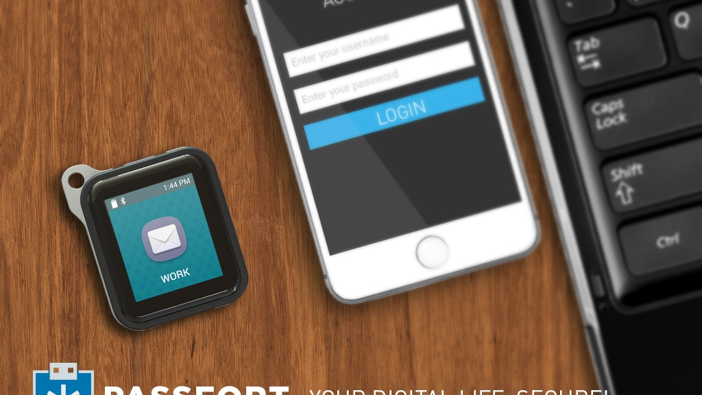PASSFORT - Your digital life, secure! project video thumbnail