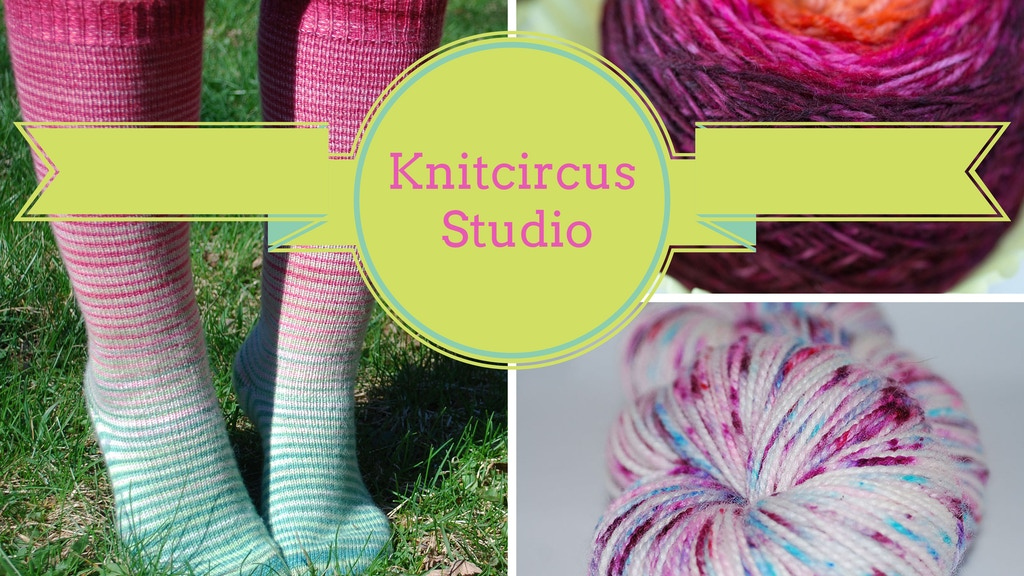Knitcircus Studio: Gradient Yarns and Craft Community project video thumbnail