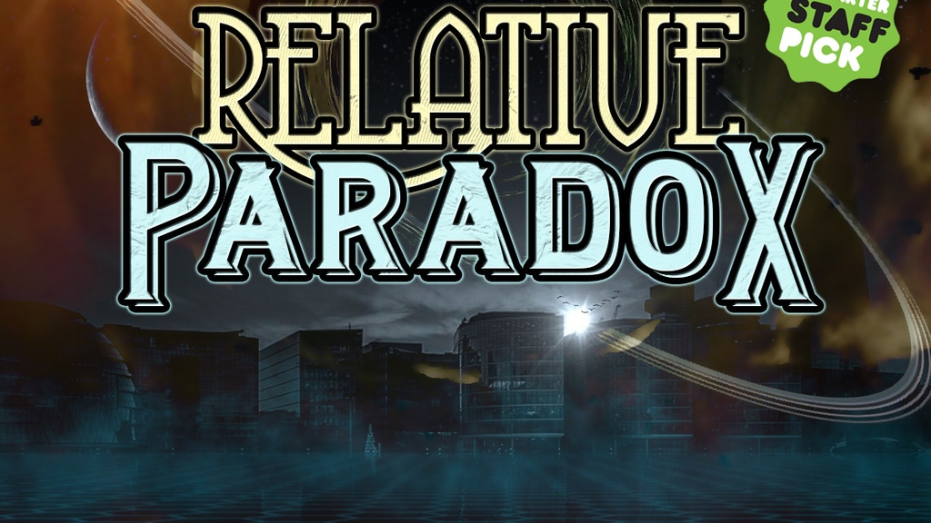 Relative Paradox: A Tabletop Time Travel Game project video thumbnail
