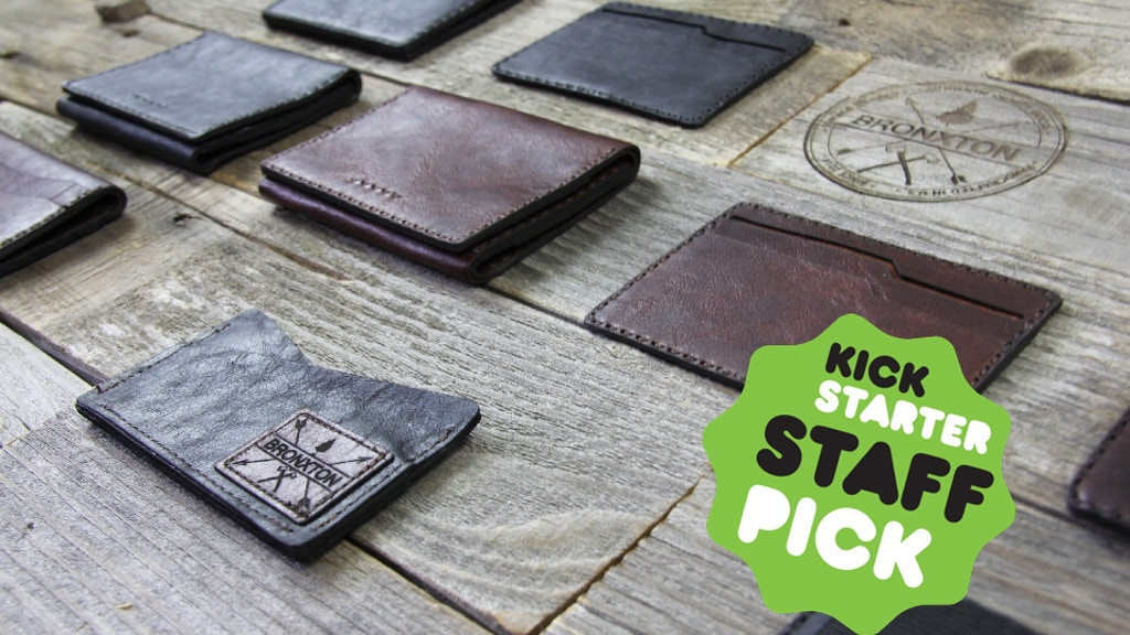 Bronxton - 3 New Minimalistic Wallets Handcrafted in the US! project video thumbnail