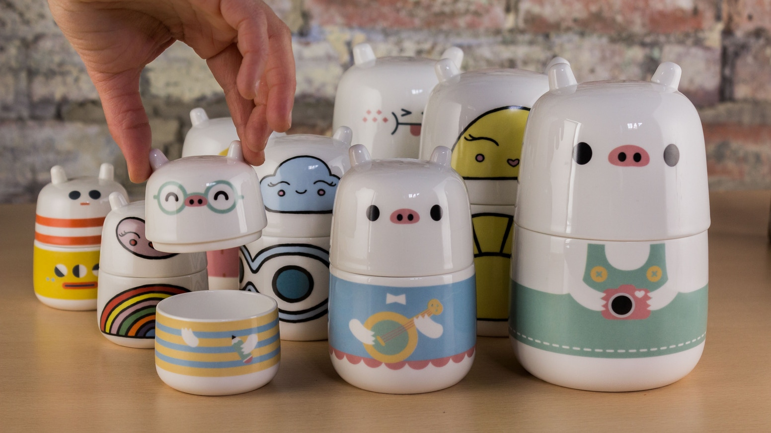 A historic British ceramic manufacturer is bringing my fine china tableware characters to life.