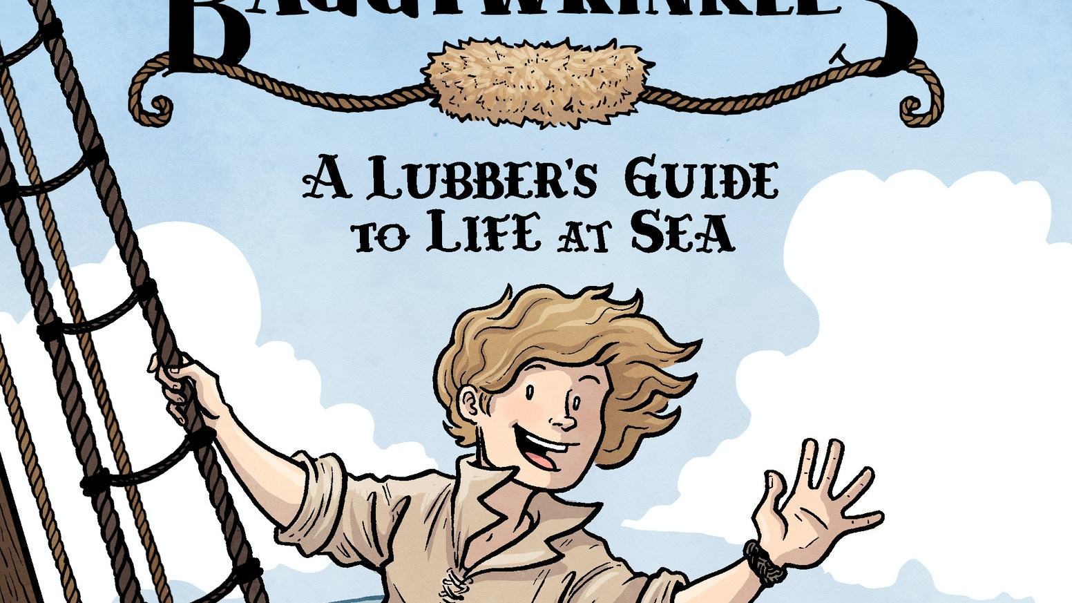 A fetching, 100-page, full-color collection of the educational-autobiographical-nautical comic you never knew you needed.