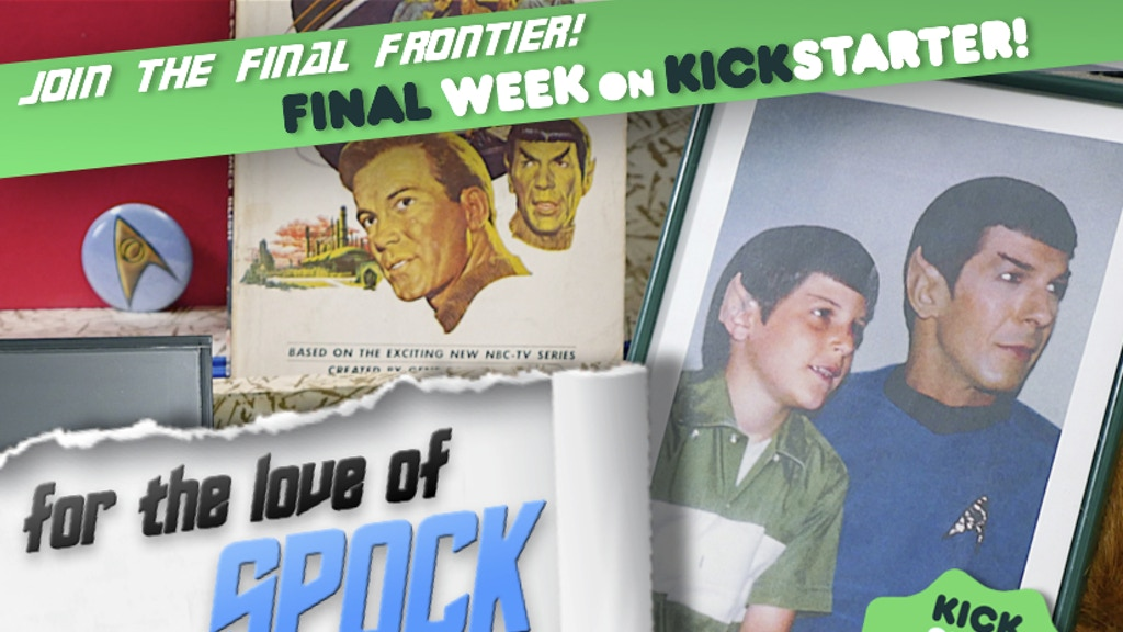 """For the Love of Spock"" - A Documentary Film project video thumbnail"
