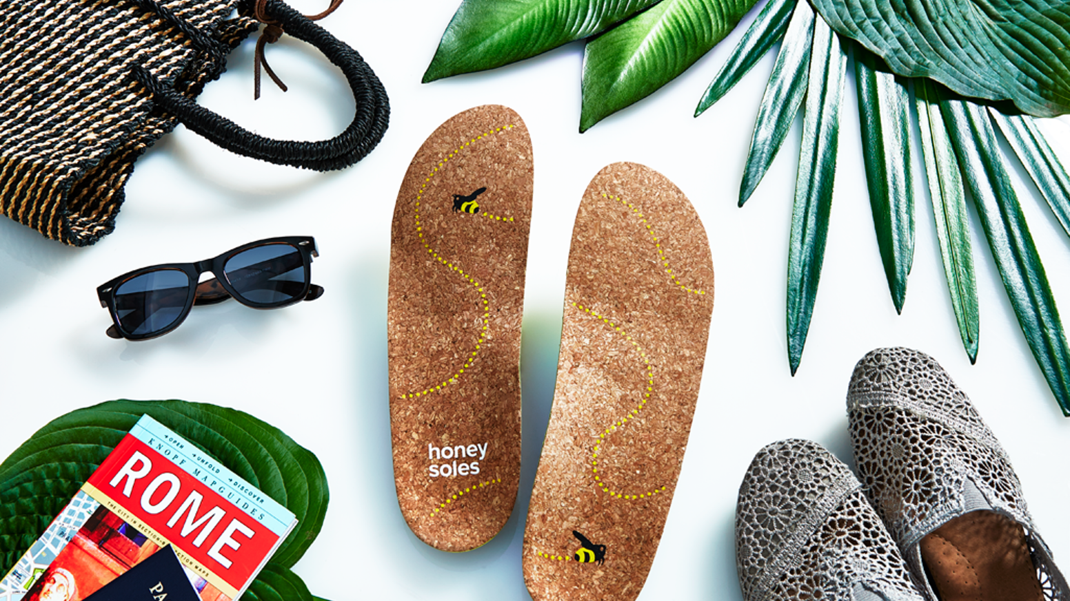 Make your shoes feel like a pair of flip-flops with Natural Cork shoe insoles.