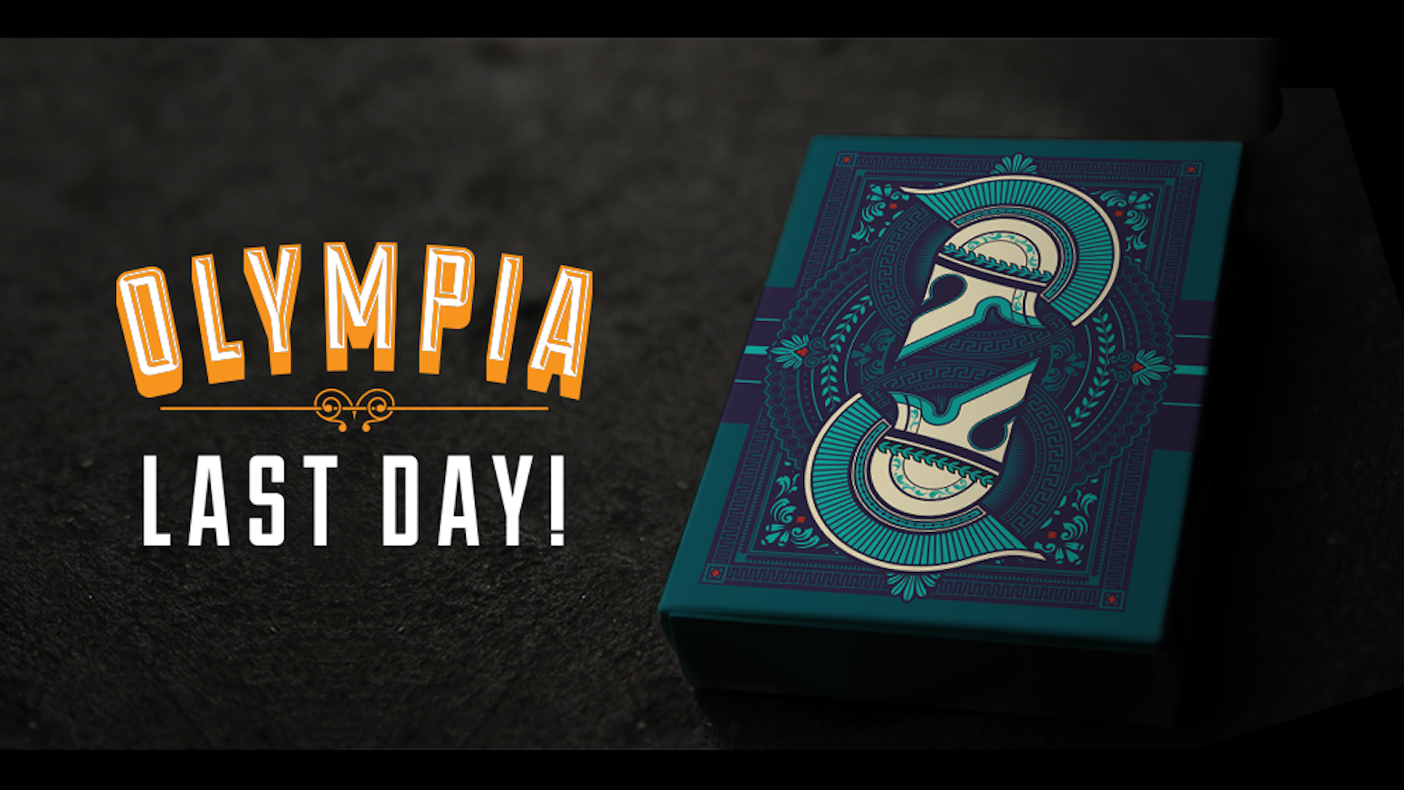 Olympia Playing Cards is a custom luxury deck inspired by the beauty and awe Greek Mythology.