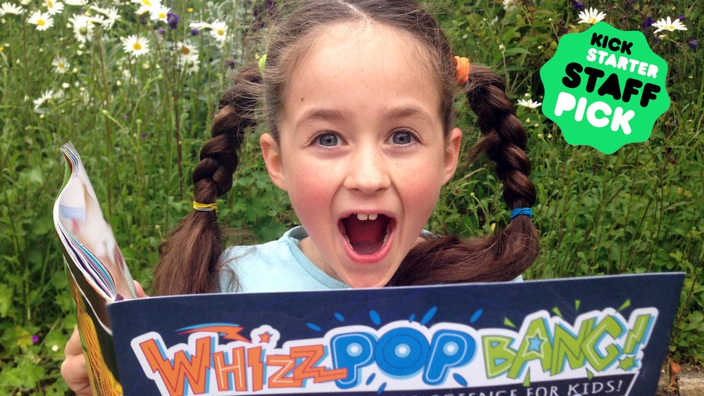 Whizz Pop Bang: An awesomely amazing kids' science magazine project video thumbnail