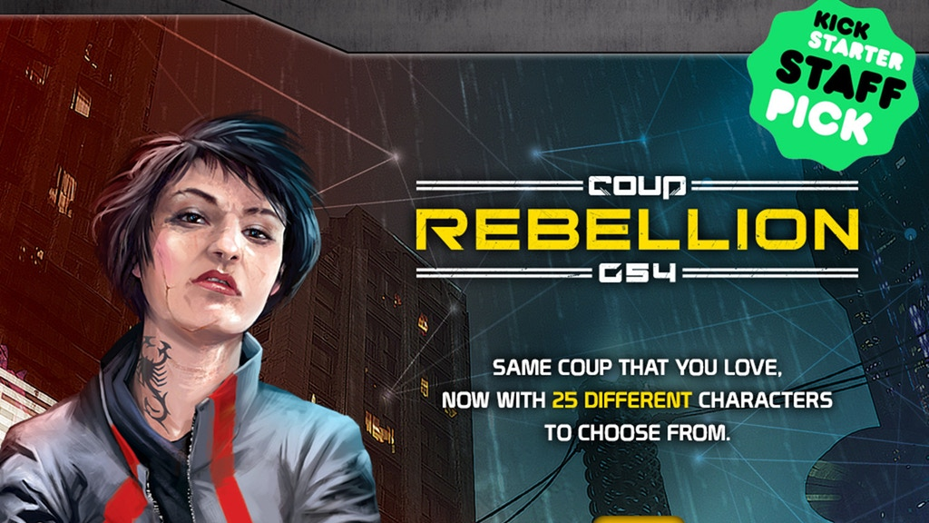 Coup: Rebellion G54 project video thumbnail