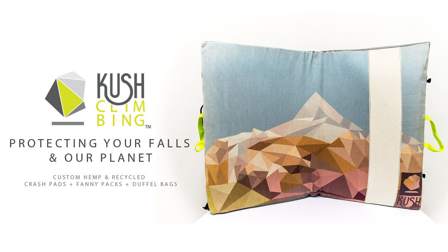 The OG Kush Pad™ is the world's first crash pad built with sustainability & creative expression in mind.